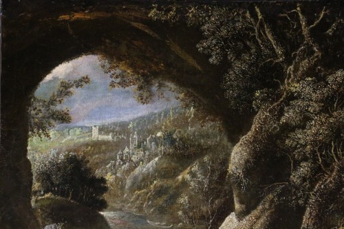 David Téniers the Younger (1610-1690) -attributed-Animated Landscape circa  -