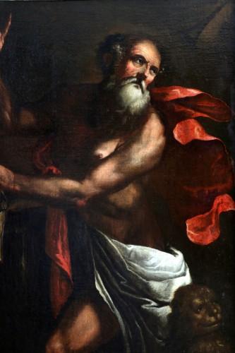 Luciano Borzone (Genoa, 1590-1645) and workshop. Saint Jerome -