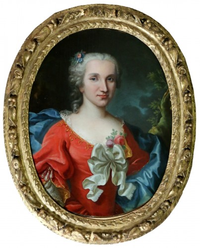 Portrait of a lady of quality, early 18th century