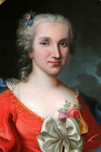 Paintings & Drawings  - Portrait of a lady of quality, early 18th century