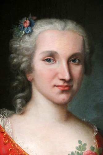 Portrait of a lady of quality, early 18th century -
