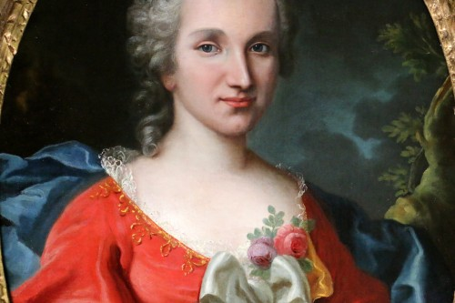 18th century - Portrait of a lady of quality, early 18th century