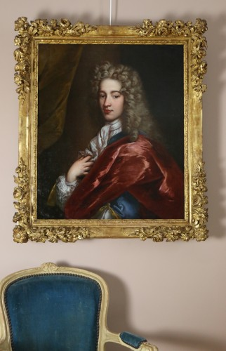 Portrait of a young man around 1700 - Workshop  Alexis Simon Belle (1674-1734) - Louis XIV