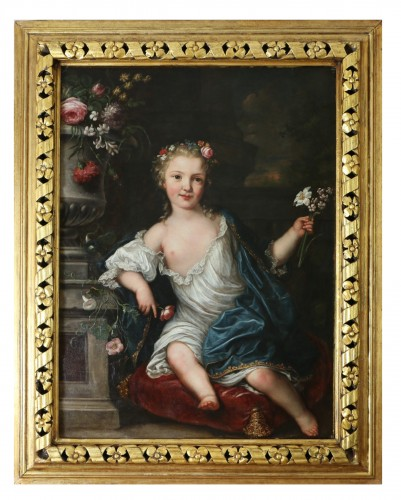 David Luders (1710-1759)-- Portrait of a young princess.