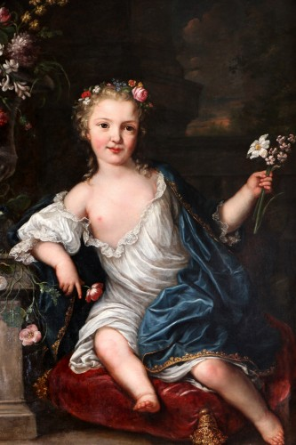 Paintings & Drawings  - David Luders (1710-1759)-- Portrait of a young princess.