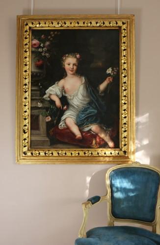 Antiquités - David Luders (1710-1759)-- Portrait of a young princess.