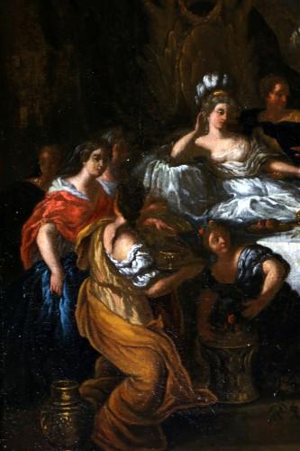 Le banquet de Cléopâtre - monogrammed GL and dated, Gérard de Lairesse (1641-1711) - Paintings & Drawings Style Louis XIV