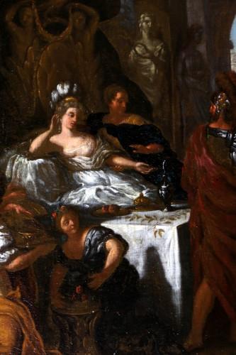 Paintings & Drawings  - Le banquet de Cléopâtre - monogrammed GL and dated, Gérard de Lairesse (1641-1711)