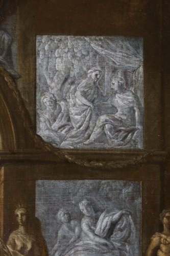 Louis XIV - Le banquet de Cléopâtre - monogrammed GL and dated, Gérard de Lairesse (1641-1711)