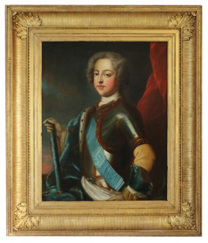 Portrait of the young Louis XV attributed to Charles Amédée Van Loo
