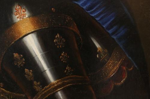 17th century - Portrait of Louis XIV - French school circa 1680-1690