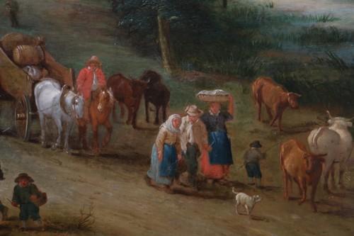 18th century - Théobald Michau (1676 Tournai, 1765 Antwerp) village scene