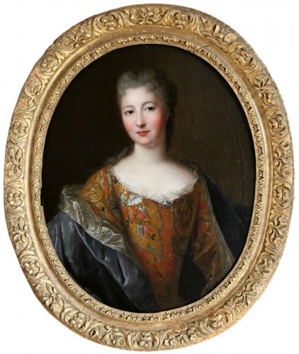 Presumed portrait of Françoise Marie de Bourbon attributed to Pierre Gobert