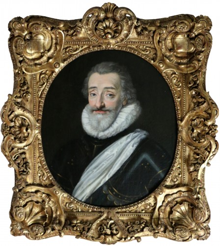 Portrait of Henri IV (1553, 1610), French school from the end of the 18th