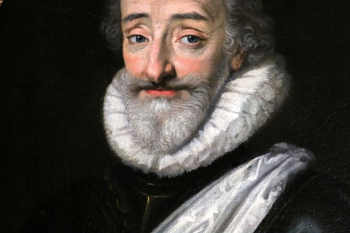 Paintings & Drawings  - Portrait of Henri IV (1553, 1610), French school from the end of the 18th