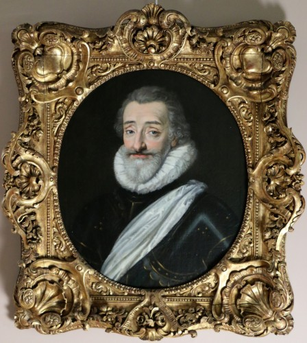 Portrait of Henri IV (1553, 1610), French school from the end of the 18th  - Transition