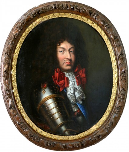 Pierre Rabon (1644; 1686) - Portrait of Louis XIV around 1670