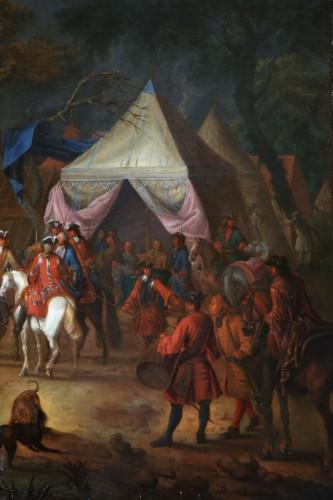 Jean Baptiste Martin des batailles (1659, 1735) - L'armée de Louis XIV en campement -