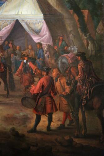 17th century - Jean Baptiste Martin des batailles (1659, 1735) - L'armée de Louis XIV en campement