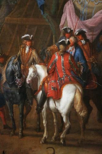 Jean Baptiste Martin des batailles (1659, 1735) - L'armée de Louis XIV en campement - Louis XIV