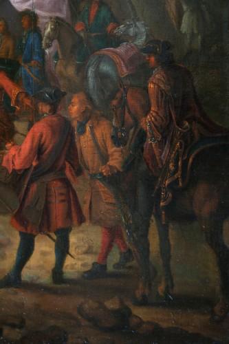 Louis XIV - Jean Baptiste Martin des batailles (1659, 1735) - L'armée de Louis XIV en campement