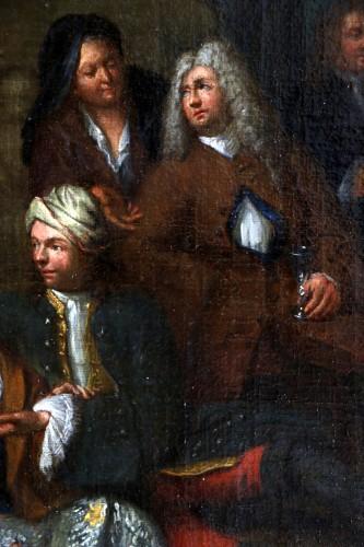Louis XIV -  Jan Josef Horemans the Elder (1682,1759) - Family scene and his suit