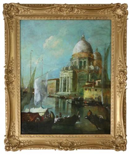 View of Venice, Vedute  -  School or workshop of Francesco Guardi (1712-1793)