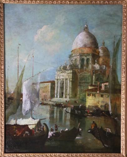 View of Venice, Vedute  -  School or workshop of Francesco Guardi (1712-1793) - Paintings & Drawings Style