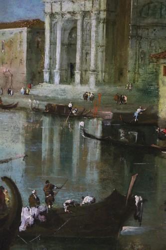 18th century - View of Venice, Vedute  -  School or workshop of Francesco Guardi (1712-1793)