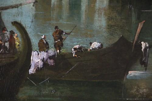 - View of Venice, Vedute  -  School or workshop of Francesco Guardi (1712-1793)