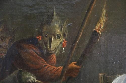 Antiquités -  18th century Dutch school (signed) after a work by Téniers