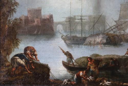 Francesco Fidanza (Citta di castello 1747, Milan 1819) monogram F, Navy - Paintings & Drawings Style Transition