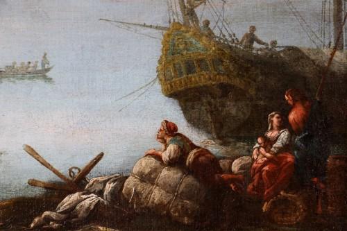 18th century - Francesco Fidanza (Citta di castello 1747, Milan 1819) monogram F, Navy