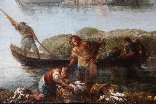 Francesco Fidanza (Citta di castello 1747, Milan 1819) monogram F, Navy - Transition