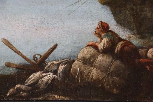 Transition - Francesco Fidanza (Citta di castello 1747, Milan 1819) monogram F, Navy