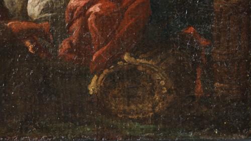 Antiquités - Francesco Fidanza (Citta di castello 1747, Milan 1819) monogram F, Navy