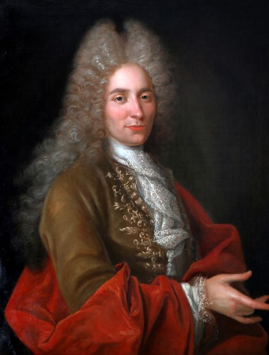 Portrait of a gentleman - French school, early 18th century - Paintings & Drawings Style Louis XIV