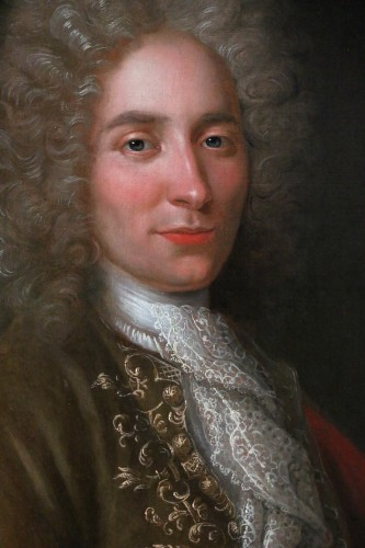 Paintings & Drawings  - Portrait of a gentleman - French school, early 18th century