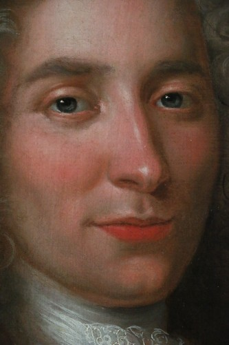 Portrait of a gentleman - French school, early 18th century -