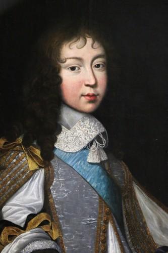 Paintings & Drawings  - Portrait of Louis XIV - Attributed to  Louis Ferdinand II Elle (1612; 1689)