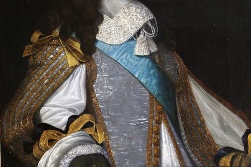 Portrait of Louis XIV - Attributed to  Louis Ferdinand II Elle (1612; 1689) -