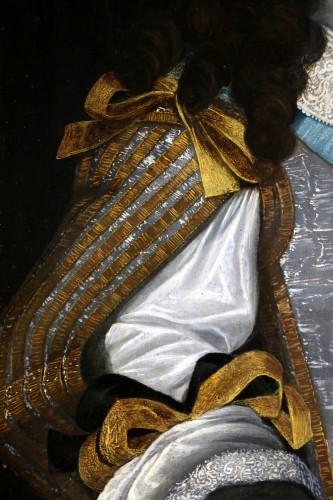 17th century - Portrait of Louis XIV - Attributed to  Louis Ferdinand II Elle (1612; 1689)