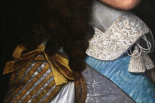 Louis XIV - Portrait of Louis XIV - Attributed to  Louis Ferdinand II Elle (1612; 1689)