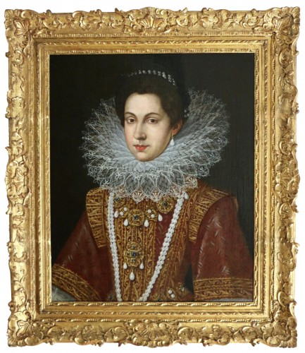 Portrait of Anne of Austria (1601; 1666), Queen of France after Pourbus