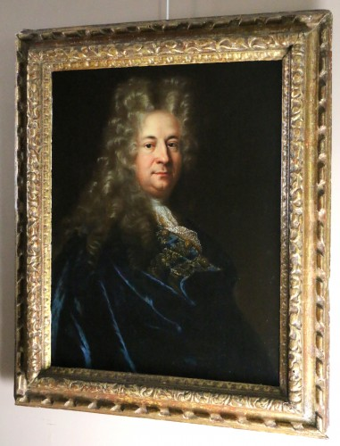 Presumed portrait of Marin Marais, composer - French school from the end of the 17th century attributed to Andre Bouys (1656; 1740) - Paintings & Drawings Style Louis XIV