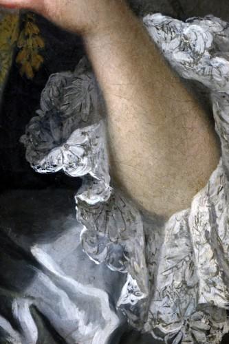 Antiquités - Portrait of a quality lady - Attributed to Louis Tocqué (1696-1772)