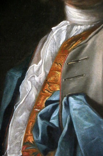 Portrait of a gentleman, attributed to Louis Tocqué (1696-1772) -