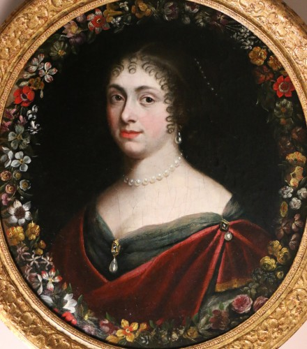 Paintings & Drawings  - Portrait of a quality lady, follower of Justus van Egmont (1601-1674)