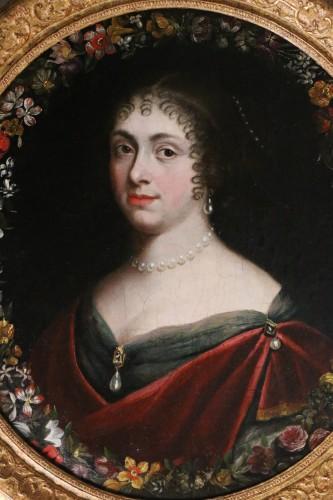 Portrait of a quality lady, follower of Justus van Egmont (1601-1674) -