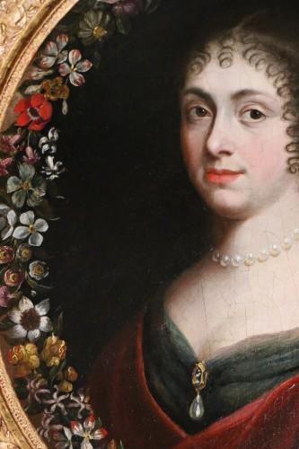 18th century - Portrait of a quality lady, follower of Justus van Egmont (1601-1674)